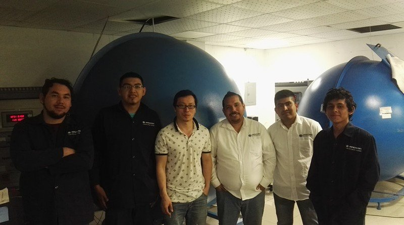 Mexico - LISUN engineer visit Mexico to do free maintenance and aftersales service for integrating sphere system