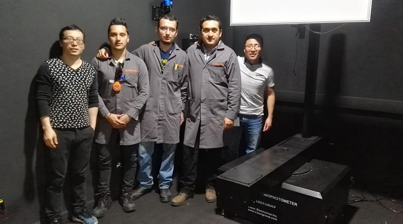 Mexico - Installation & training for LSG-1800B big size rotation luminaire type B goniophotometer