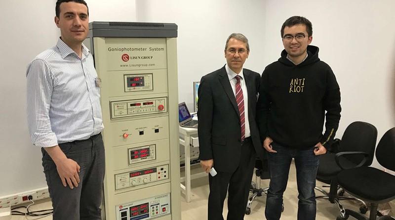 Figure 1: Turkey Customer, LISUN engineer and the LSG-1800BCCD