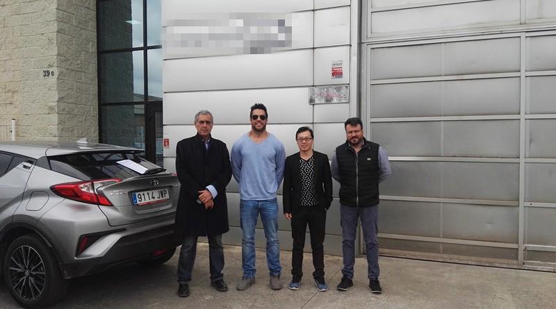 Spain - LISUN engineer Jacky visited new customers