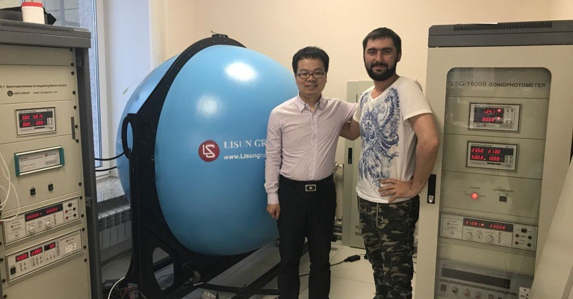 Russia - LISUN Engineer Continue to do Installation and Training about LSG-1600B Goniophotometer System and LPCE-2 Integrating Sphere System