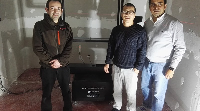 Chile - LISUN Engineer visit our customer and do installation & training for type B goniophotometer system
