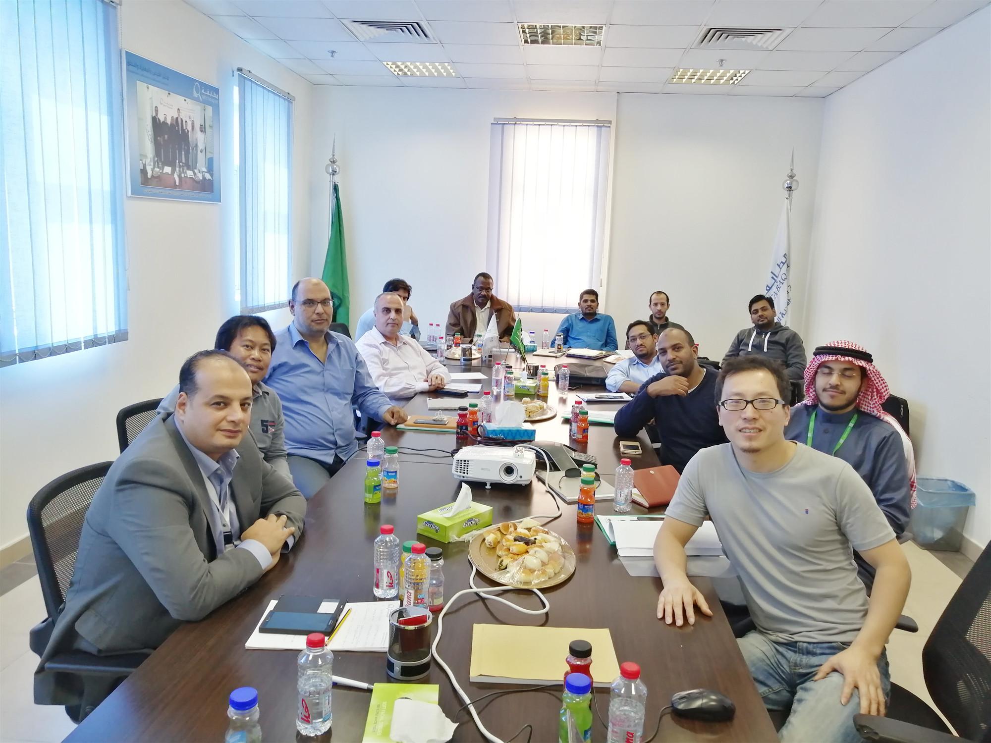 LISUN held a lighting technology salon in Saudi Arabia