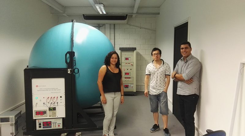 Brazil - Our Engineer Went to install LSG-1800B goniophotometer and LPCE-3 integrating sphere system