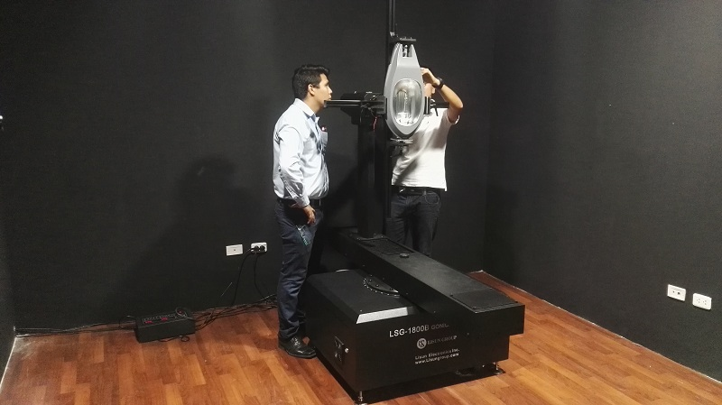 Peru - Installation and training for LSG-1800B rotation luminaire goniophotometer