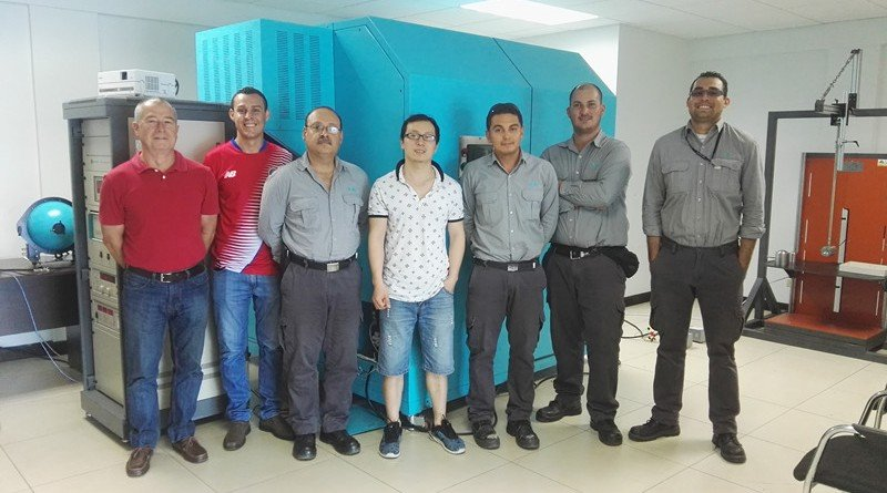 Costa Rica - Installation for constant temperature integrating sphere, IK level tester and IP waterproof test