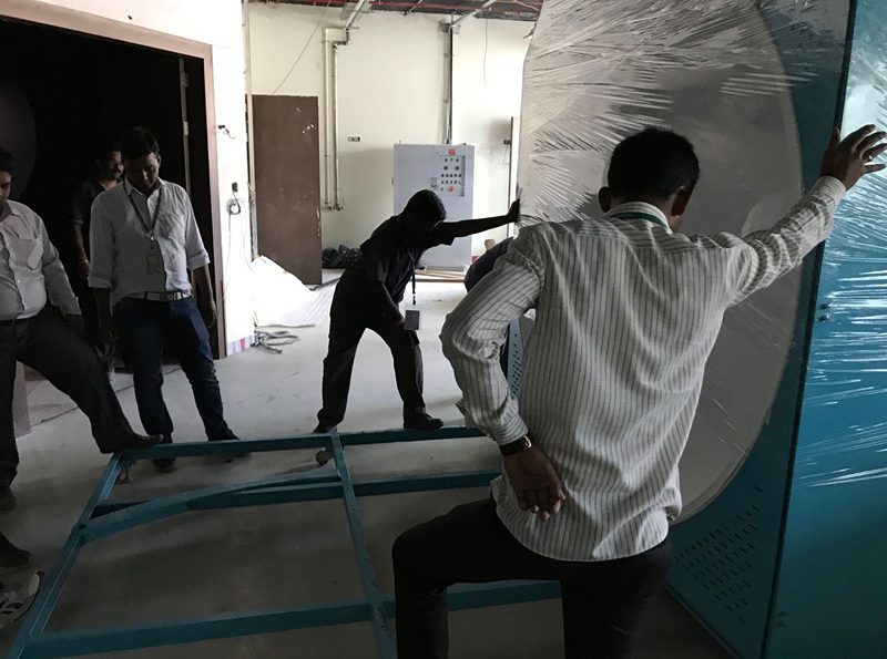 India -  Constant Temperature Integrating Sphere Spectroradiometer System LPCE-2(LMS-9000B) Installation and Training