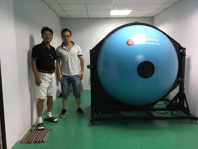 Thailand - Installed LSG-1800B goniophotometer, LPCE-3 integrating sphere and WT2080 LED driver tester