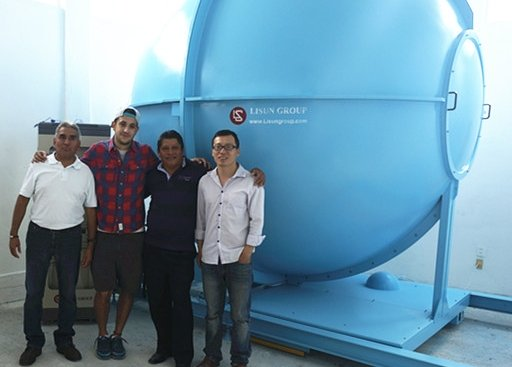 Mexico - Installation and training for 3m integrating sphere system for two clients