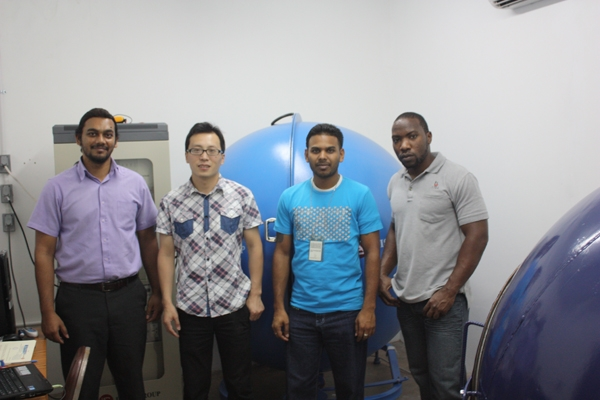 Trinidad and Tobago - Installation and training for spectrophotometer integrating sphere system