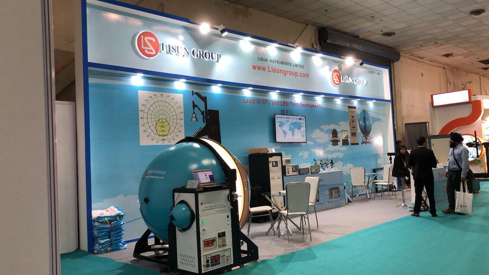 LISUN In LED Expo New Delhi 1