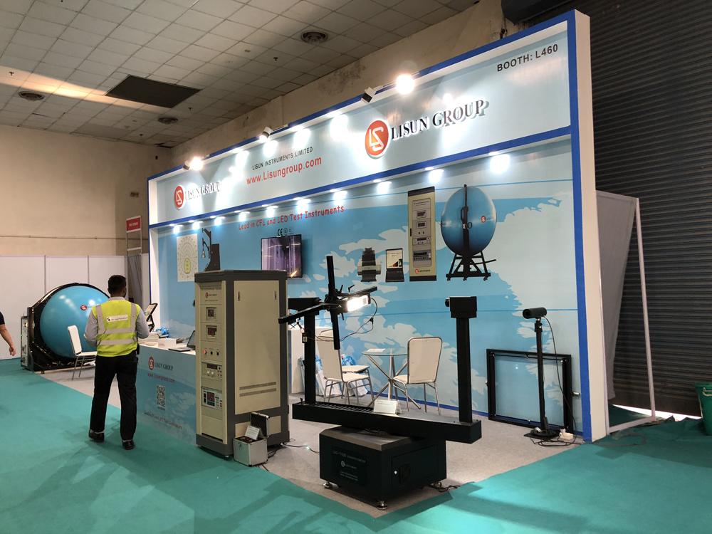 LISUN In LED Expo New Delhi 4