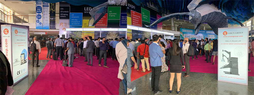 LISUN 2019 LED Expo New Delhi Successfully Concluded 1