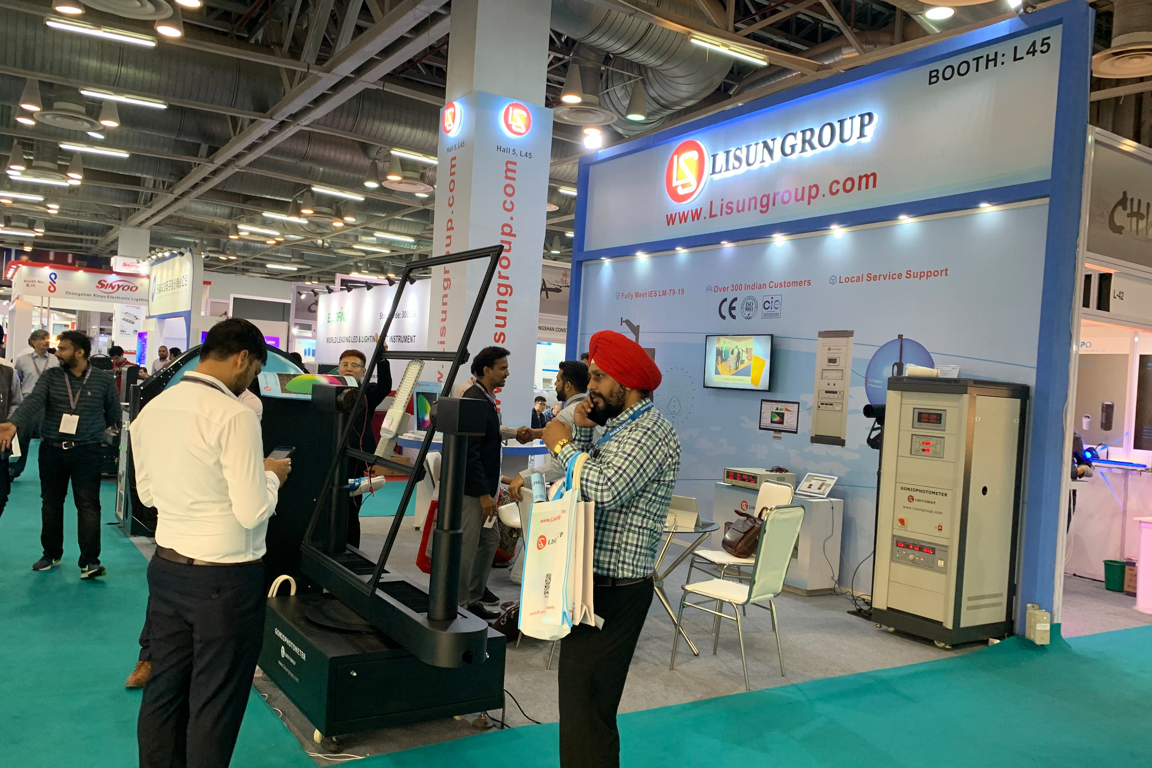 LISUN 2019 LED Expo New Delhi Successfully Concluded